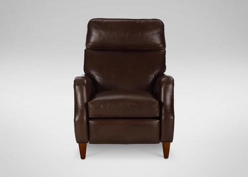 Aiden Leather Recliner, Omni/Brown
